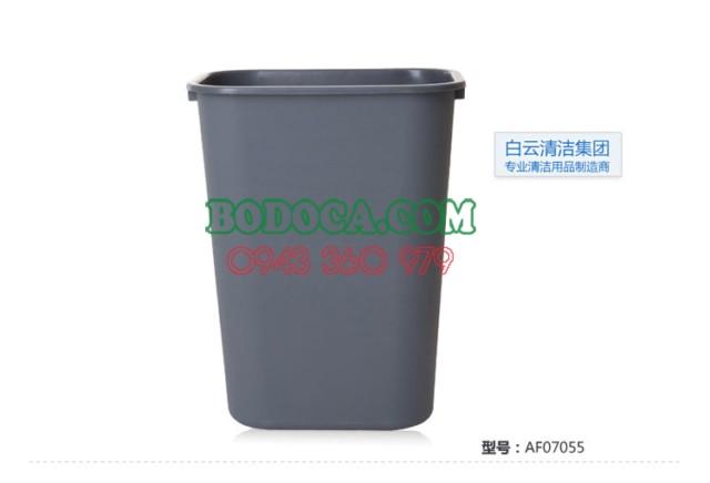 Thùng rác nhựa không nắp AF07009 tại TP.HCM 2