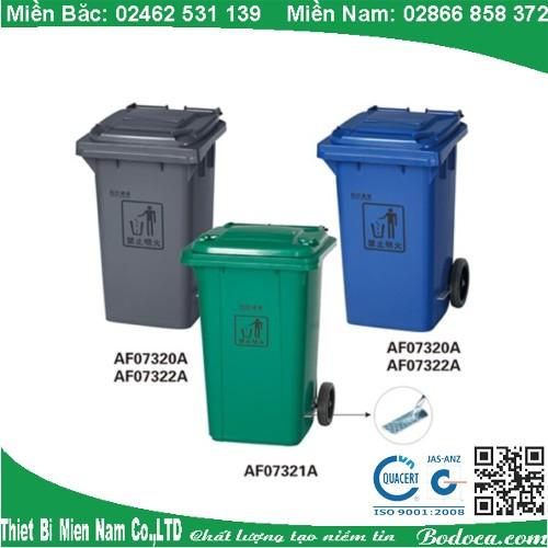 Thùng đựng rác ngoài trời 100l AF07320