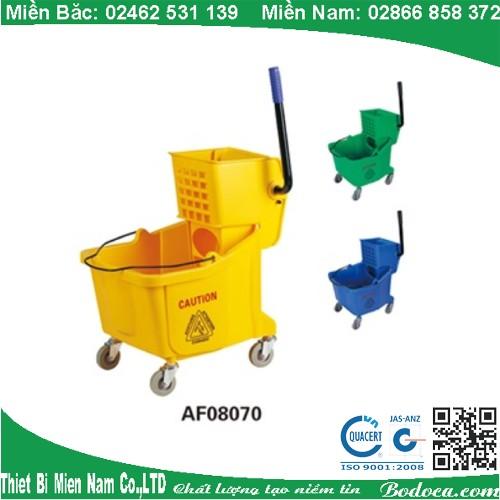 Công ty phân phối xe đẩy dọn vệ sinh AF08070